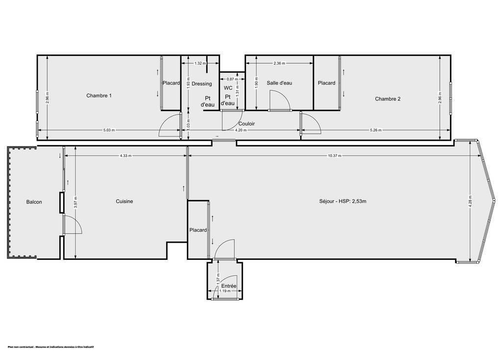 Vente Appartement Metz (57000) 94m² 250.000€