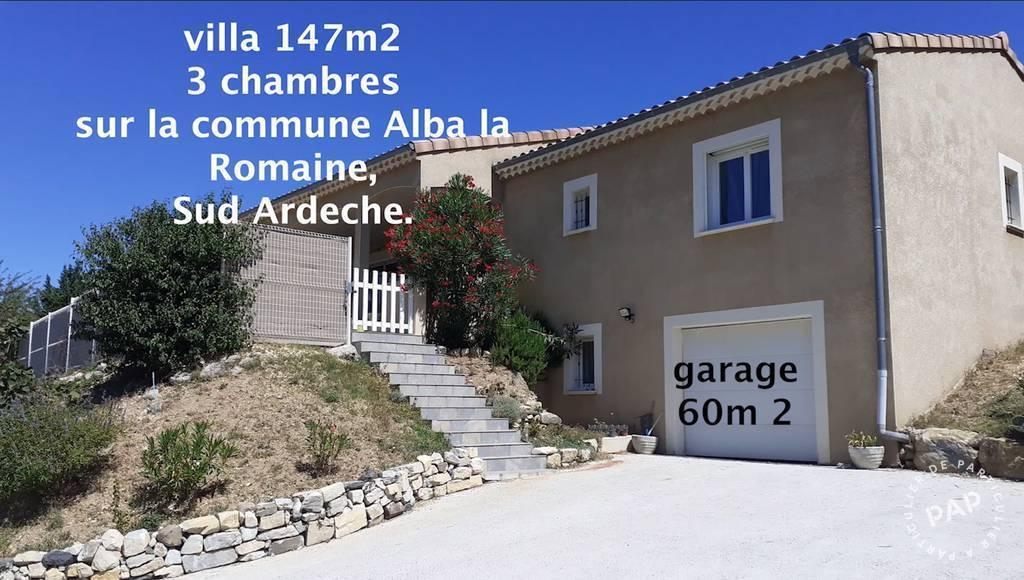Vente Maison Alba-La-Romaine (07400) 147m² 349.000€