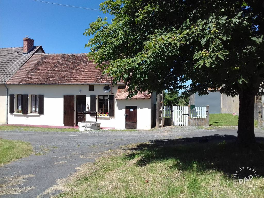Vente maison 5 pièces Montchevrier (36140)