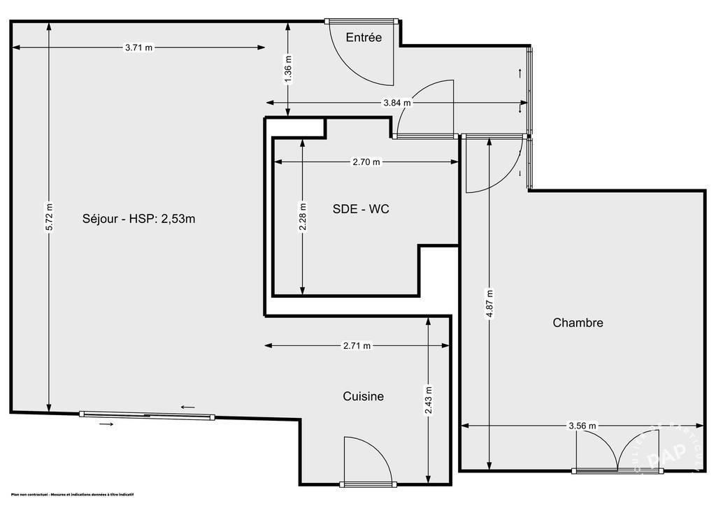 Vente Appartement Saint-Laurent-Du-Var (06700) 47m² 285.000€