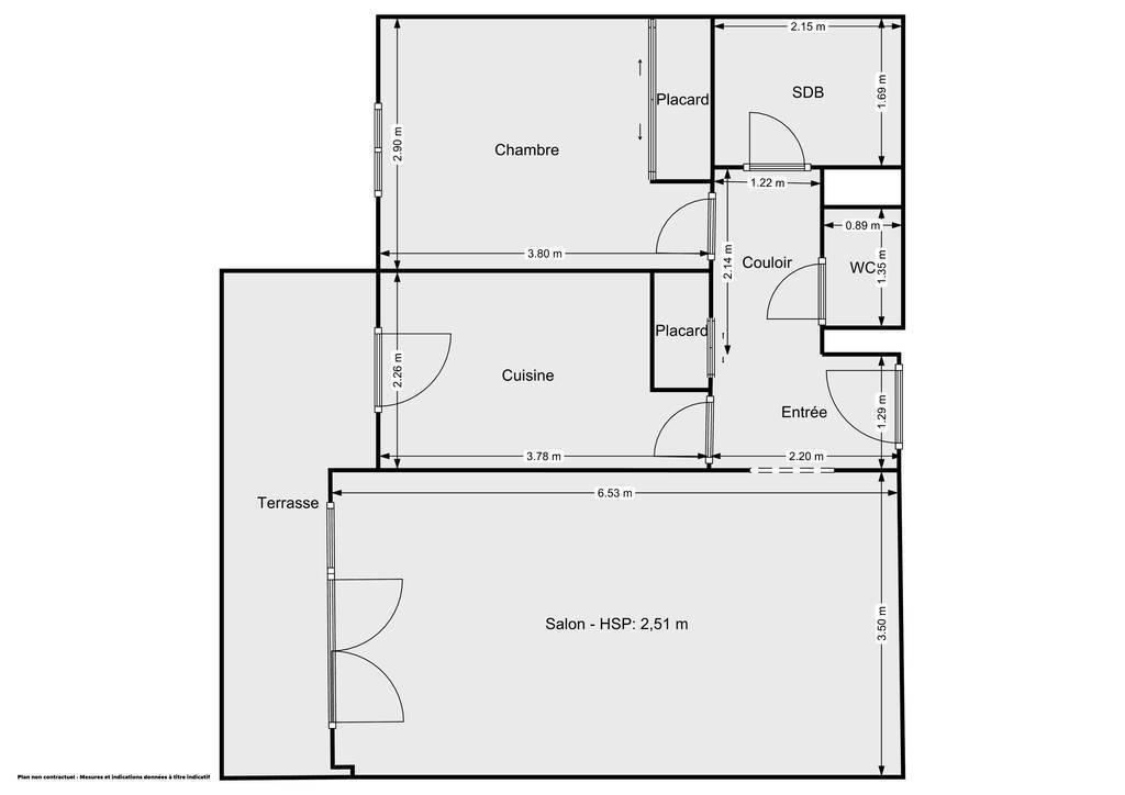 Vente Appartement Toulouse (31300) 52m² 165.000€
