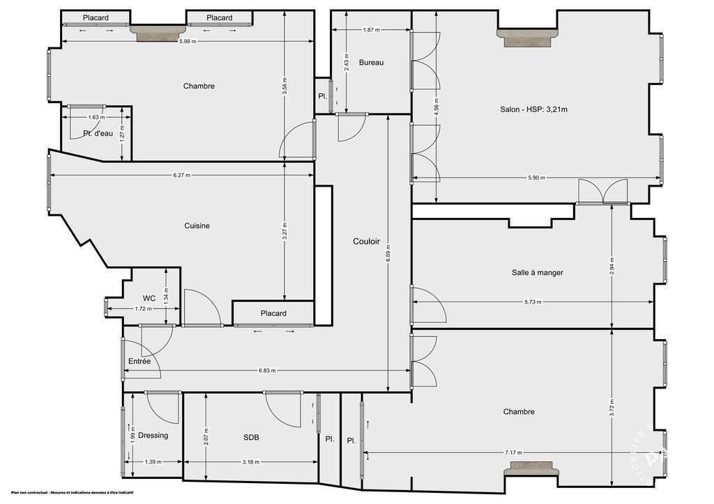 Vente Appartement Lyon 2E (69002) 134m² 835.000€