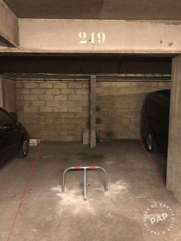 Vente Garage, parking Paris 19E (75019)  14.900€