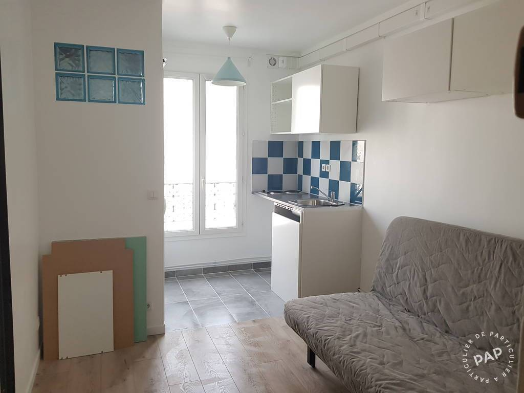 Location Appartement Paris 18E 14m² 630€