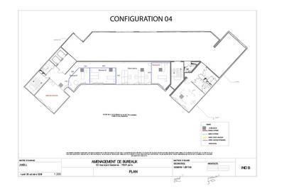 Bureaux, local professionnel Paris 17E (75017) - 180m² - 8.000€