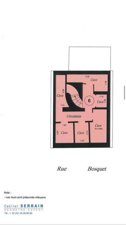 Vente Surfaces diverses Paris 7E (75007)  65.000€