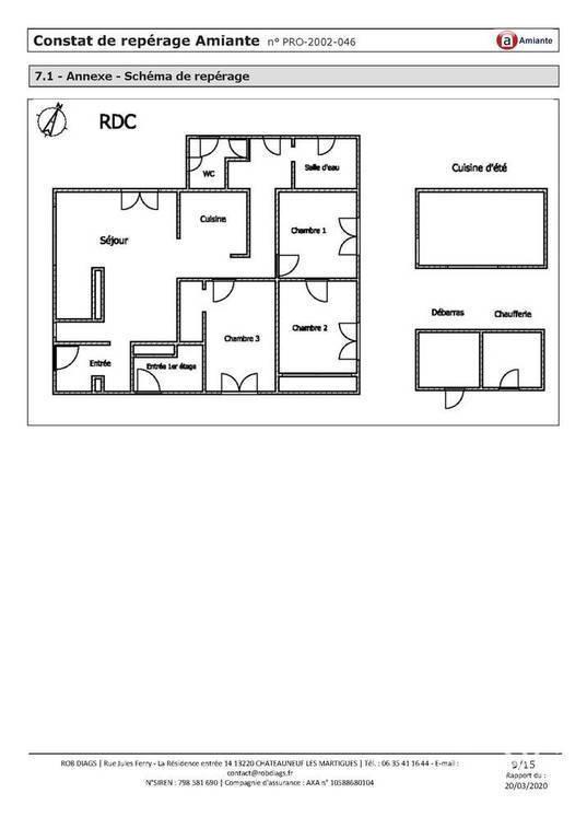 Maison Martigues (13500) 395.000€