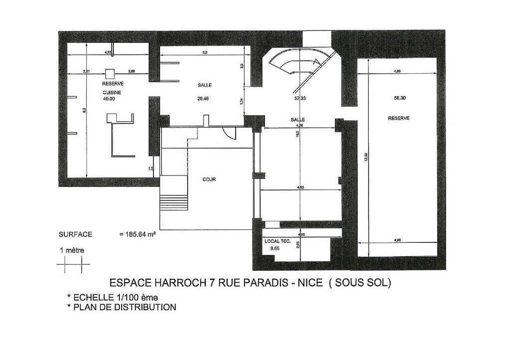 Vente et location Nice (06000) 554m²