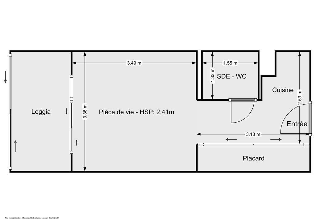 Vente Appartement Cannes (06150) 20m² 139.000€