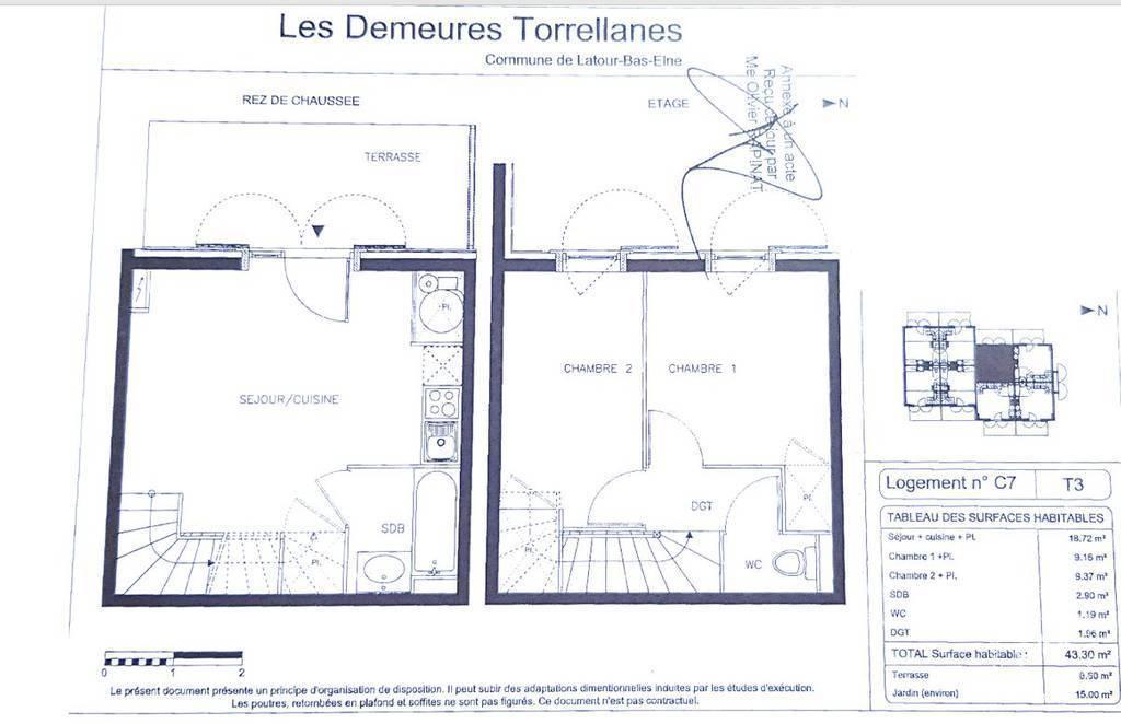 Maison 2 Km Saint-Cyprien - Villa  T3 Duplex 119.000€