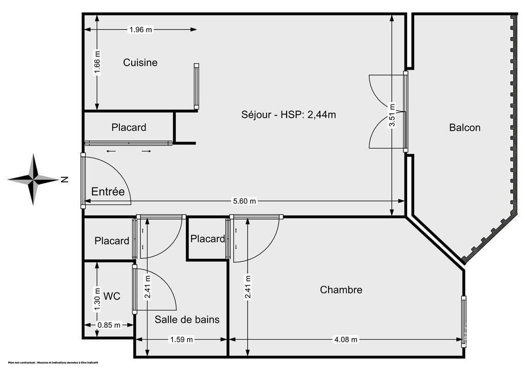 Vente Appartement Toulouse (31200) 38m² 112.900€