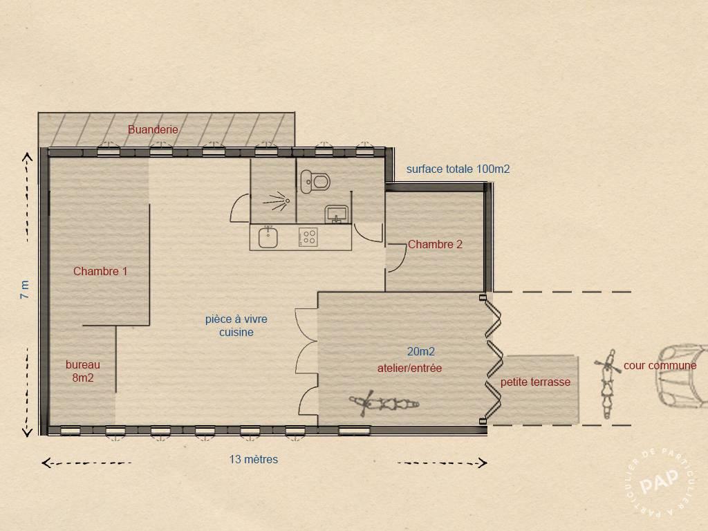 Vente immobilier 590.000€ Romainville (93230)