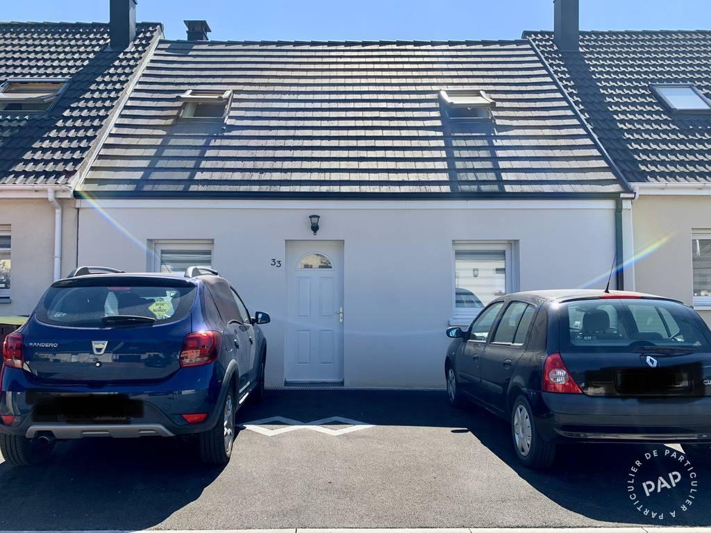 Vente Maison Noyelles-Godault (62950) 80m² 168.000€