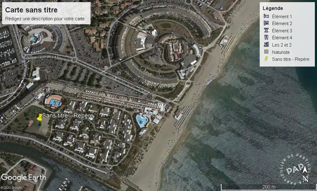 Vente Appartement Agde (34300) 35m² 285.000€