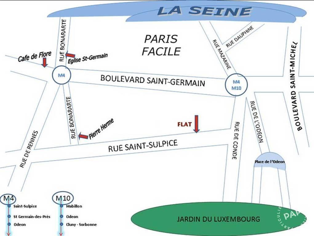 Appartement 2.000€ 35m² Paris 6E (75006)