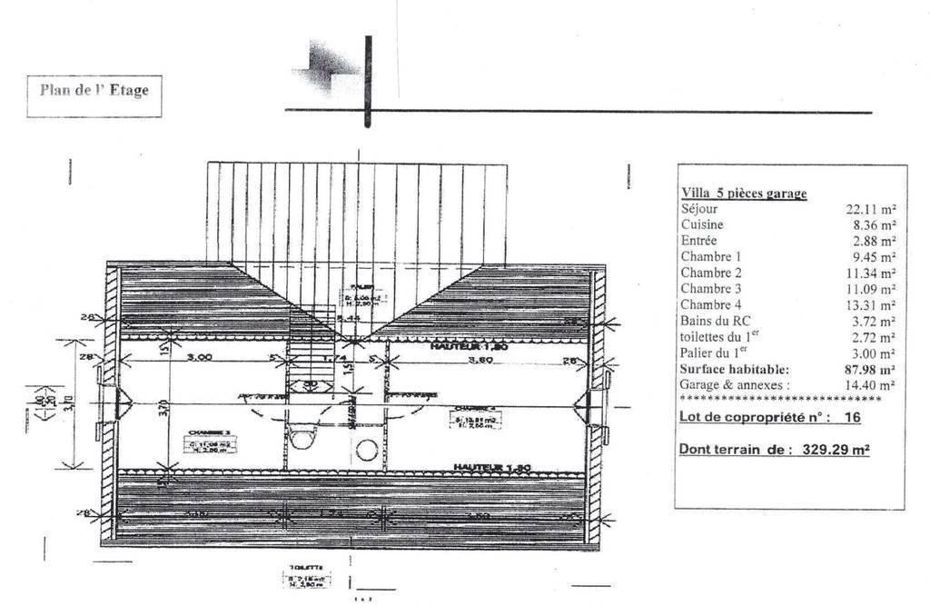 Maison 155.000€ 87m² Amilly (45200)