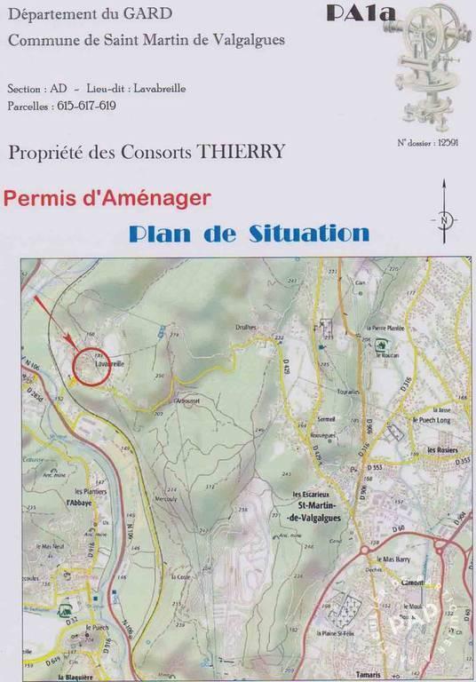 Terrain 100.000€  Saint-Martin-De-Valgalgues (30520)