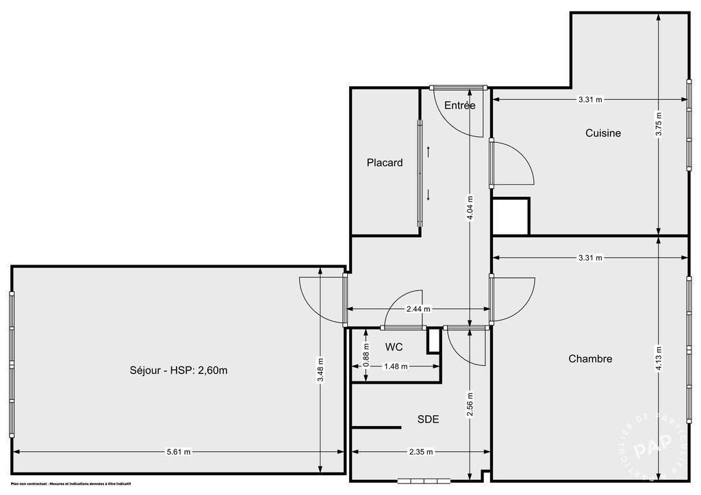 Vente Appartement Champigny-Sur-Marne (94500) 55m² 214.580€