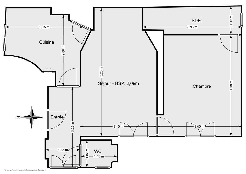 Vente Appartement Paris 15E (75015) 43m² 510.000€
