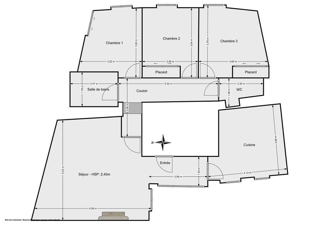Vente Appartement Bordeaux (33000) 94m² 399.000€