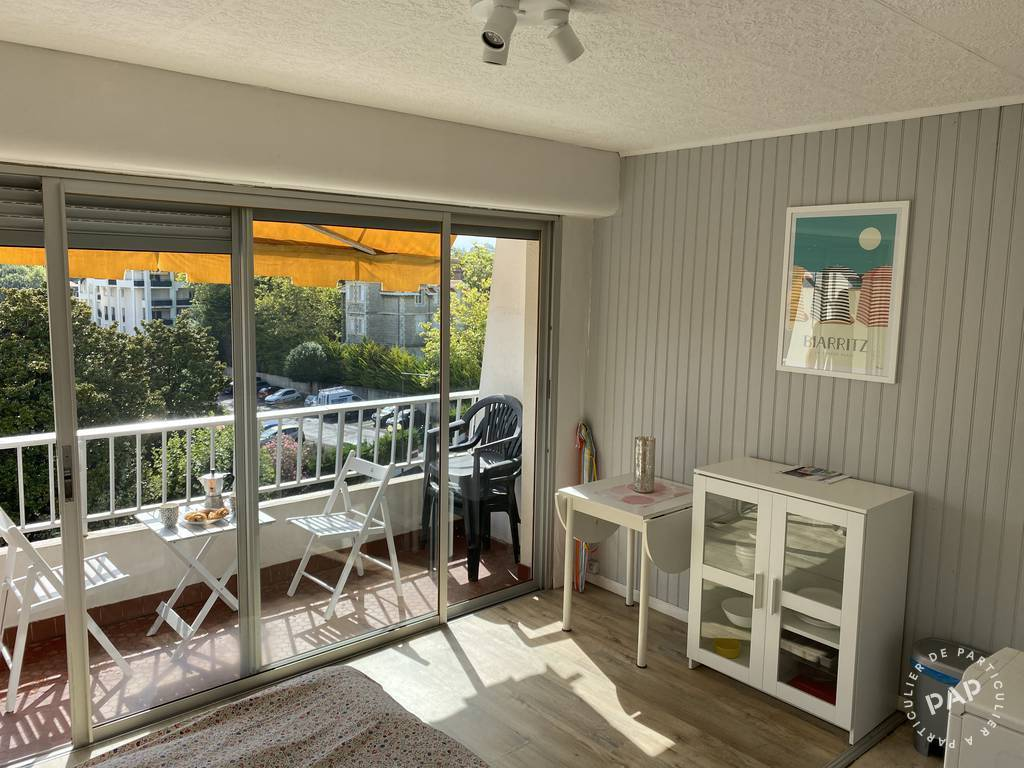 Location Appartement Biarritz (64200) 25 m² 550 €