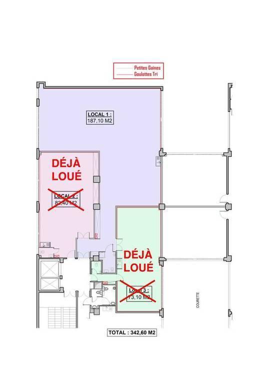 Bureaux et locaux professionnels 3.000€ 187m² Pantin (93500)