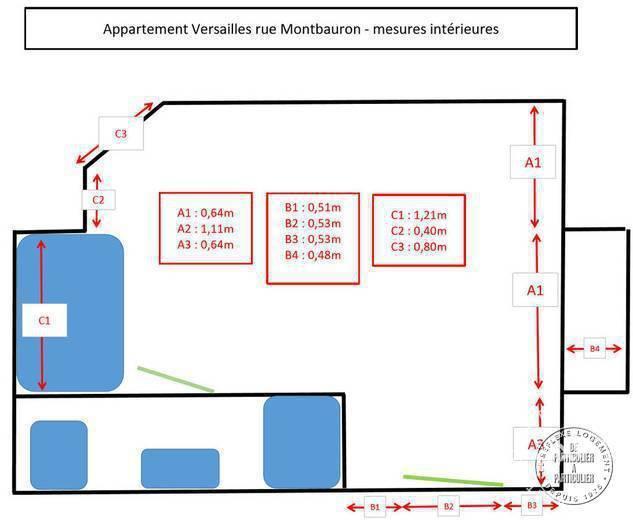 Vente Versailles (78000) 15m²