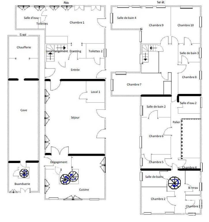 Immobilier Saint-Jean-Lherm (31380) 884.000€ 640m²