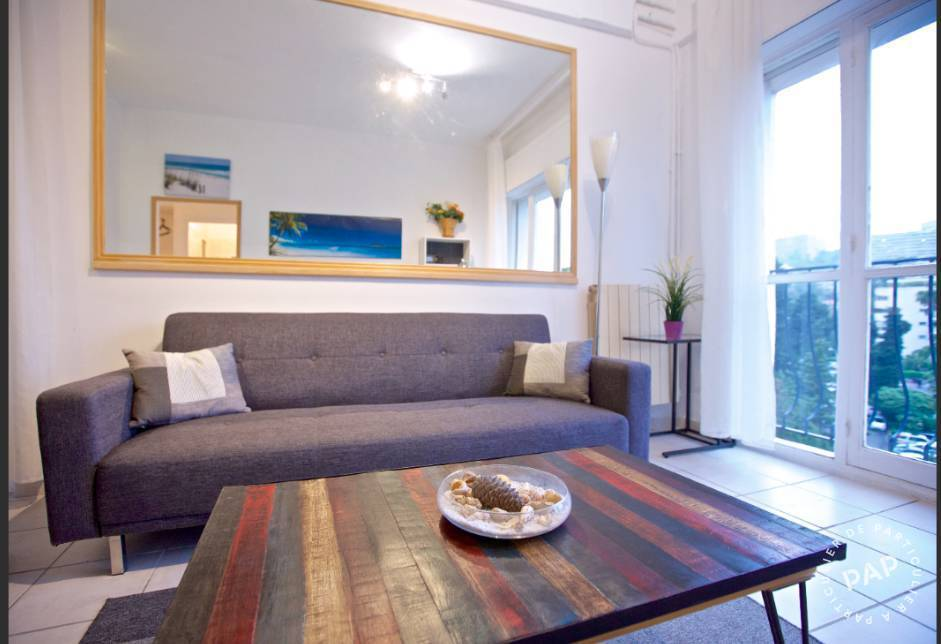 Immobilier Nice (06200) 1.050€ 45m²