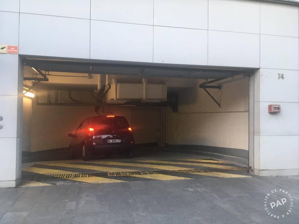 Location Garage, parking Boulogne-Billancourt (92100)  100€