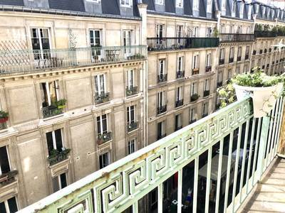 Avec Balcon - Exposé Sud - Paris 18E