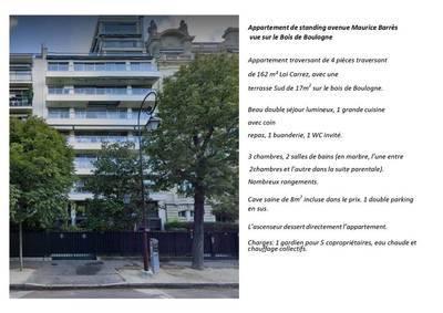 Balcon 17M² Vue Bois De Boulogne
