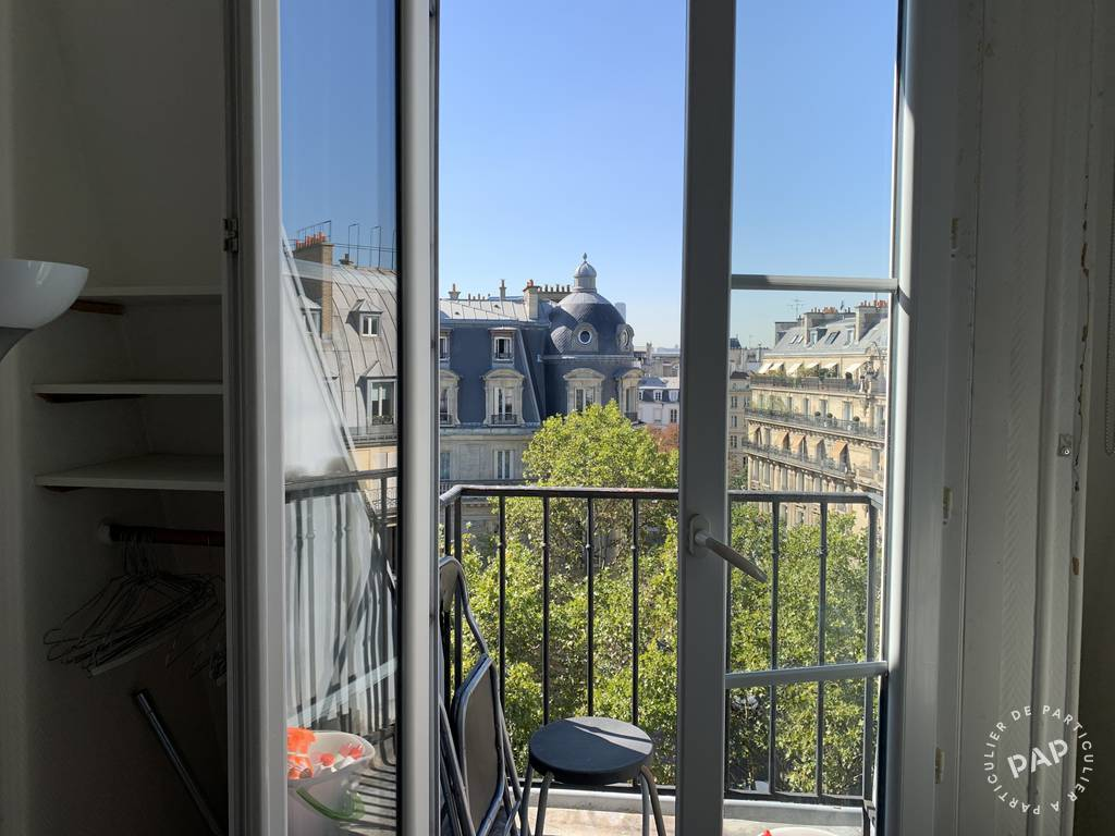 Location appartement studio Paris 1er