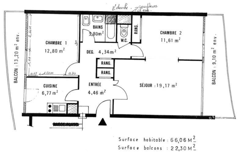 Location Saint-Maurice (94410) 66m²