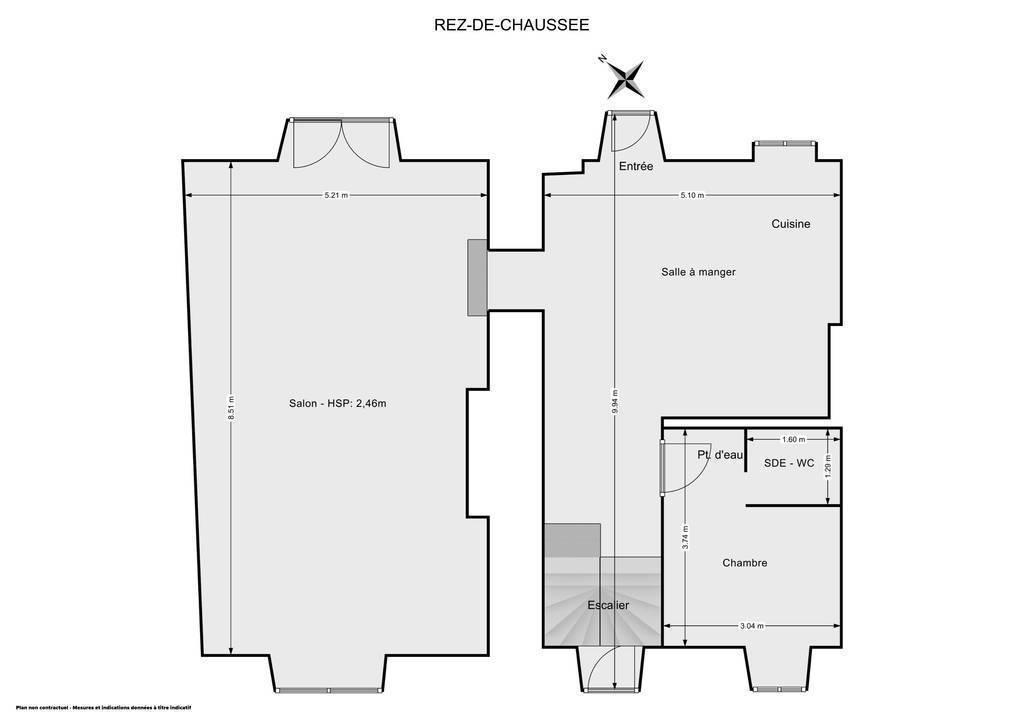 Vente Maison Poligny, Quartier Le Château 130m² 275.000€