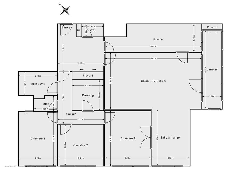 Vente Appartement Paris 13E (75013) 104m² 740.000€