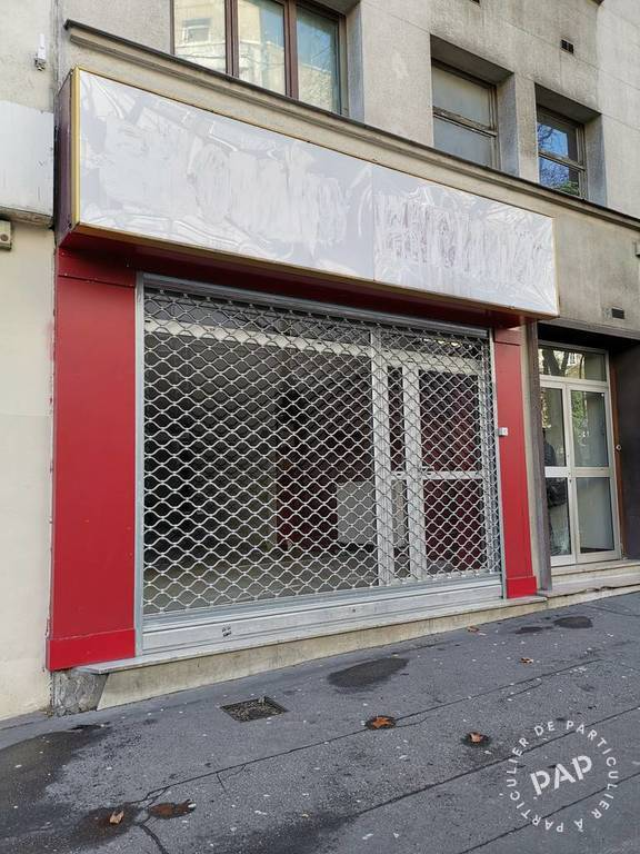 Vente et location Local commercial Paris 20E (75020) 100m² 725.000€