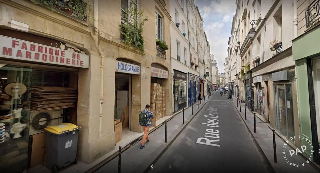 Vente Local commercial Paris 3E (75003) 150m² 120.000€