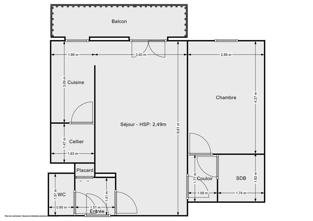 Vente Appartement Villeneuve-Sur-Yonne (89500) 49m² 89.000€