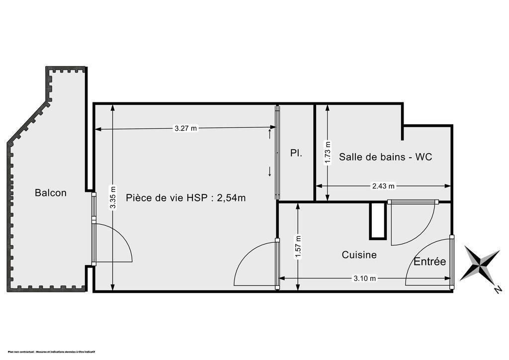Vente Appartement Gex (01170) 20m² 120.000€