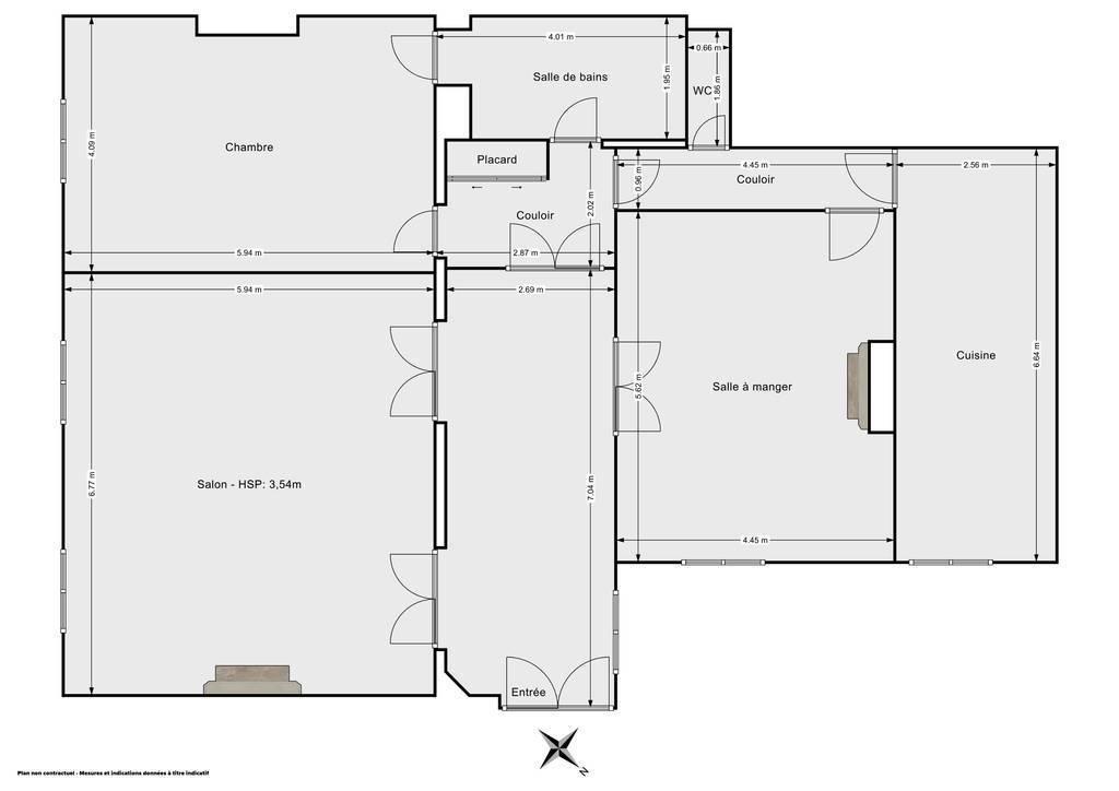 Vente Appartement Paris 17E (75017) 140m² 1.610.000€