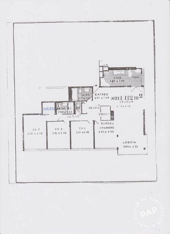 Vente Appartement Fontenay-Le-Fleury (78330) 115m² 319.000€