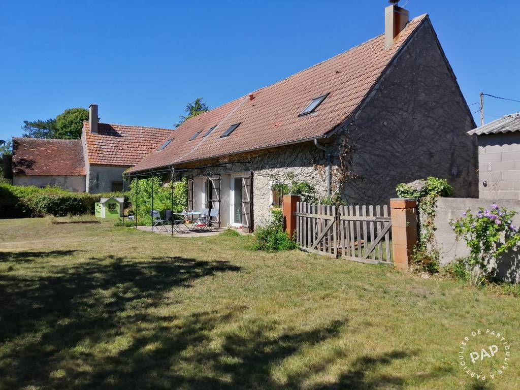 Vente Maison Cerbois (18120) 155m² 160.000€