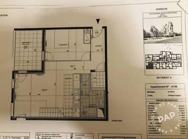 Vente Appartement Achères (78260) 82m² 350.000€