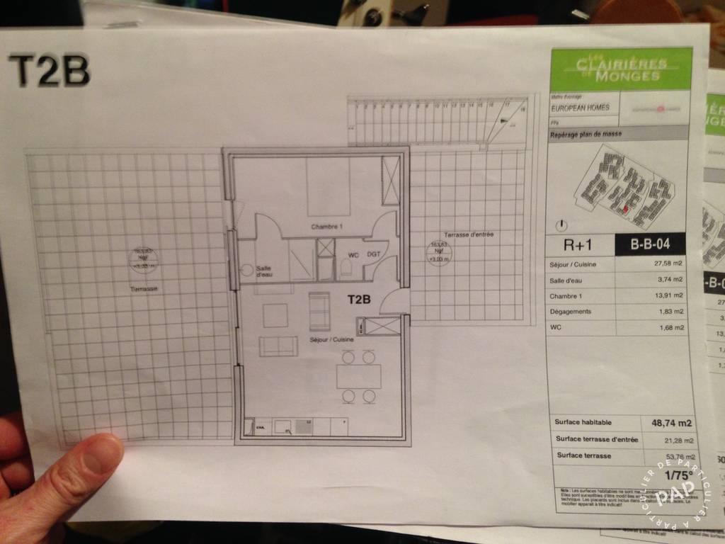 Vente appartement 2 pièces Cornebarrieu (31700)