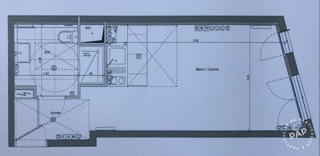 Location Appartement Paris 20E (75020) 27m² 1.100€