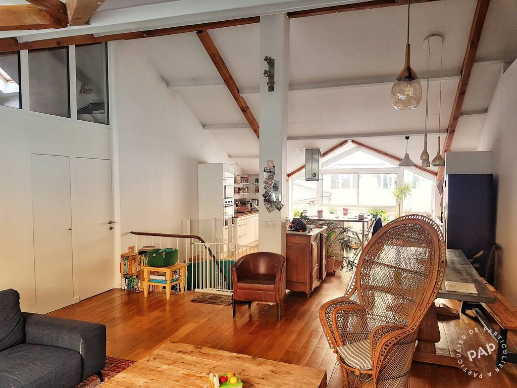 Vente Appartement Le Pré-Saint-Gervais (93310) 97m² 850.000€