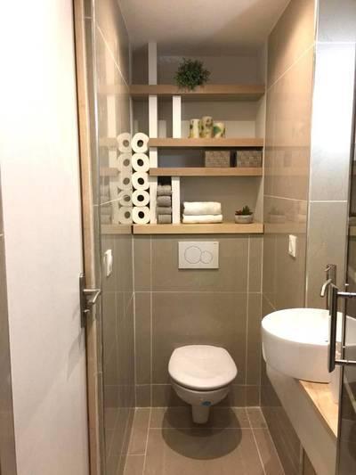 Salle D'eau, Wc Privatifs+35M²