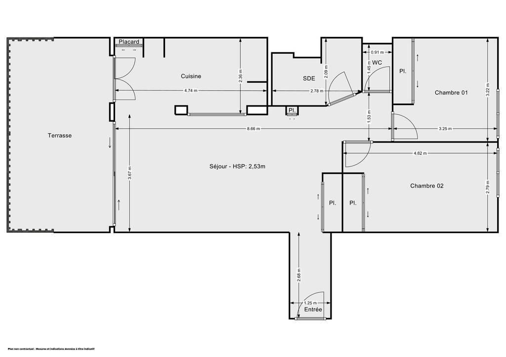 Vente Appartement La Seyne-Sur-Mer (83500) 72m² 232.000€