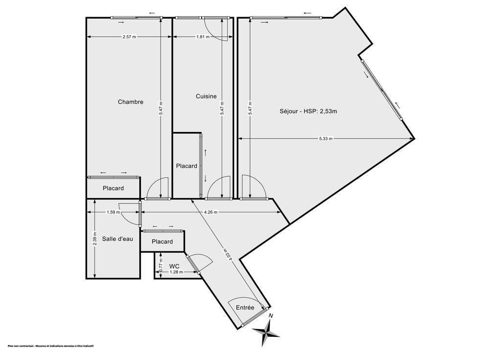 Vente Appartement Paris 10E (75010) 60m² 600.000€